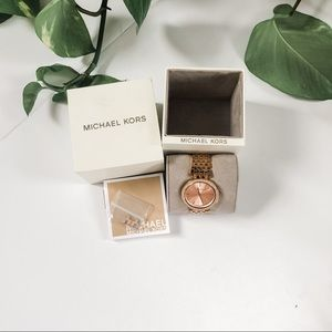 Michael Kors Darci Rose gold watch